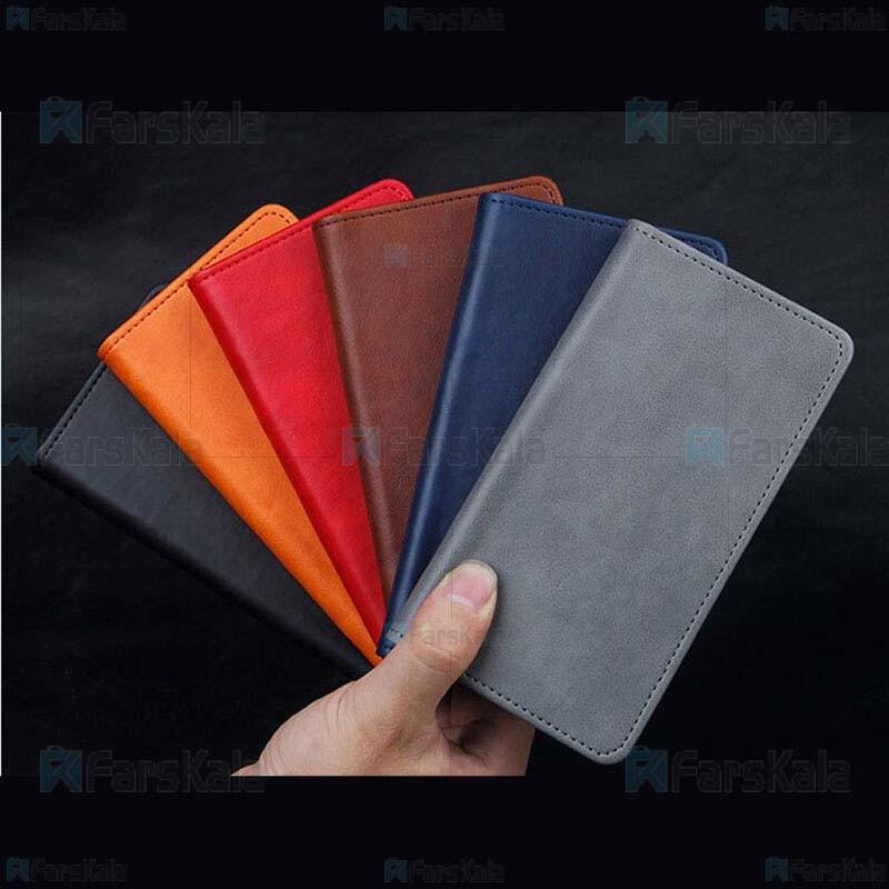 کیف طرح چرم بلک بری Leather Cover For BlackBerry Aurora