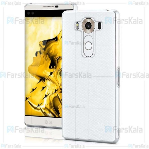 قاب محافظ ژله ای 5 گرمی ال جی Clear Jelly Case For LG V10
