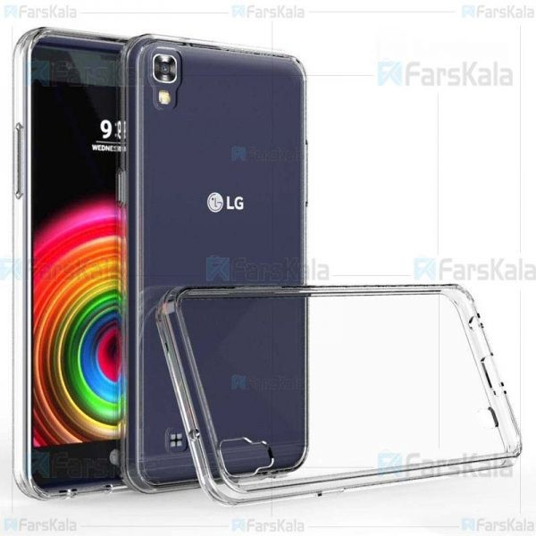 قاب محافظ ژله ای 5 گرمی ال جی Clear Jelly Case For LG X Power