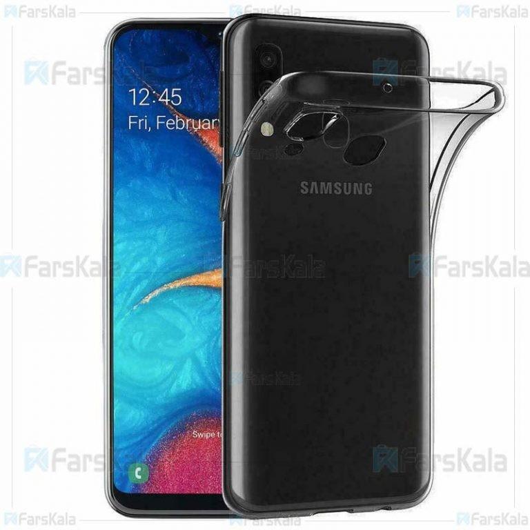 قاب محافظ ژله ای 5 گرمی سامسونگ Clear Jelly Case For Samsung Galaxy A20e
