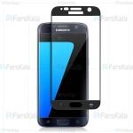 محافظ صفحه نمایش تمام چسب با پوشش کامل سامسونگ Full Glass Screen Protector For Samsung Galaxy S7
