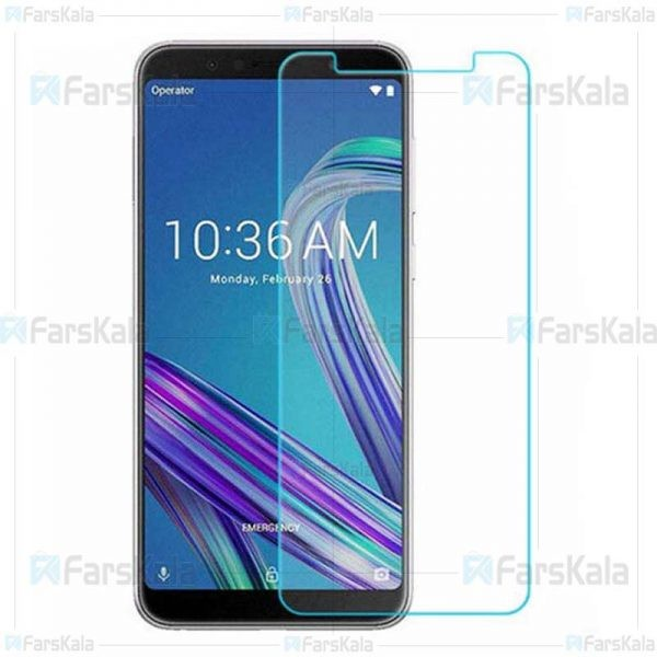 محافظ صفحه نمایش شیشه ای ایسوس Glass Screen Protector For Asus ZenFone Max Pro M1 ZB602KL