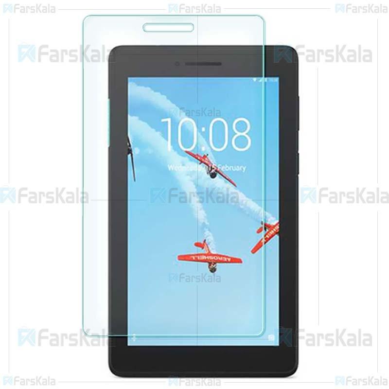 محافظ صفحه نمایش شیشه ای لنوو Glass Screen Protector For Lenovo Tab E7