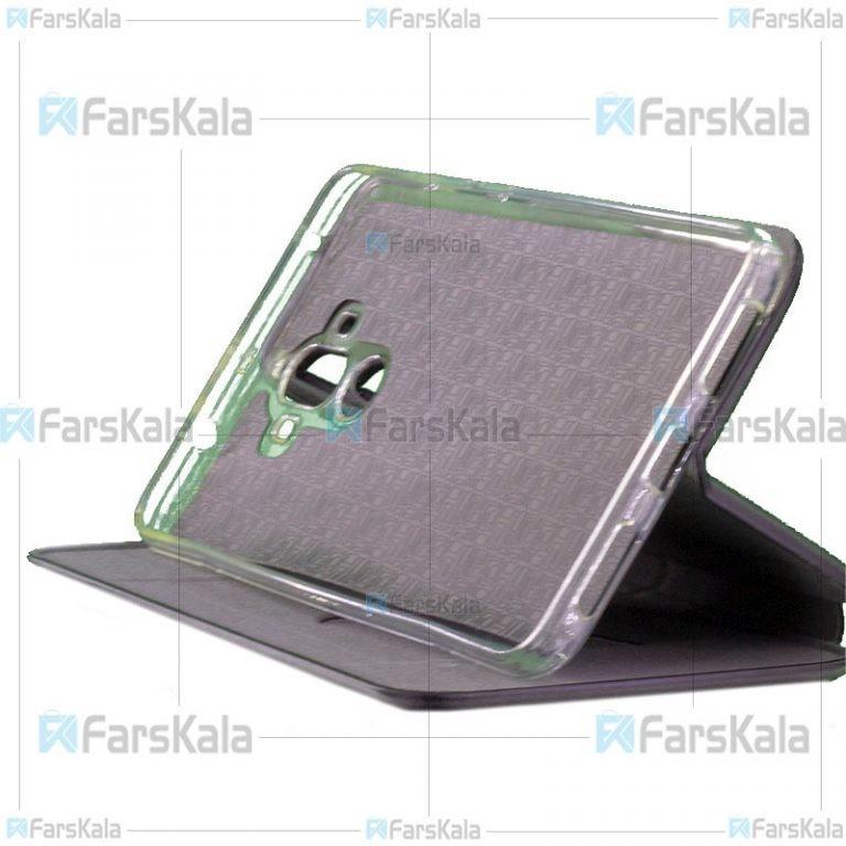 کیف محافظ چرمی هواوی Leather Standing Magnetic Cover For Huawei Ascend Mate 9