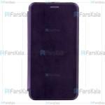 کیف محافظ چرمی هواوی Leather Standing Magnetic Cover For Huawei Ascend Mate 8