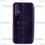 کیف محافظ چرمی هواوی Leather Standing Magnetic Cover For Huawei Honor 20