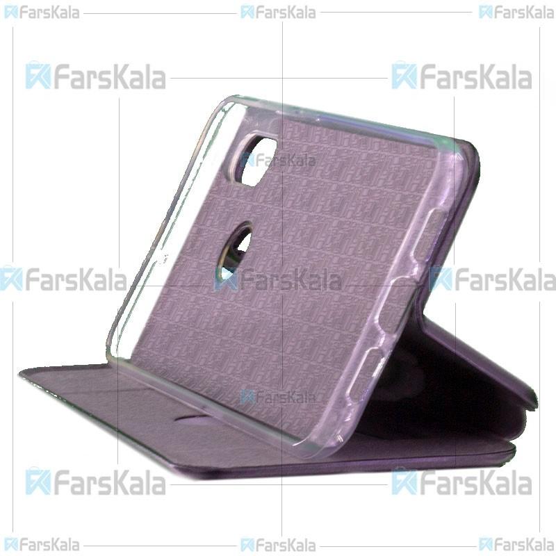 کیف محافظ چرمی شیائومی Leather Standing Magnetic Cover For Xiaomi Mi 8