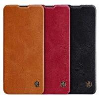 کیف محافظ چرمی نیلکین سامسونگ Nillkin Qin Case For Samsung Galaxy A10s