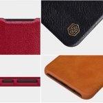 کیف محافظ چرمی نیلکین شیائومی Nillkin Qin Case For Xiaomi Redmi Note 8 Pro