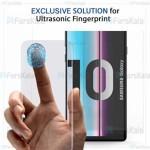 محافظ صفحه شیشه ای تمام صفحه و خمیده یو وی سامسونگ UV Full Glass Screen Protector Samsung Galaxy S10