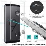 محافظ صفحه شیشه ای تمام صفحه و خمیده یو وی سامسونگ UV Full Glass Screen Protector Samsung Galaxy S9 Plus
