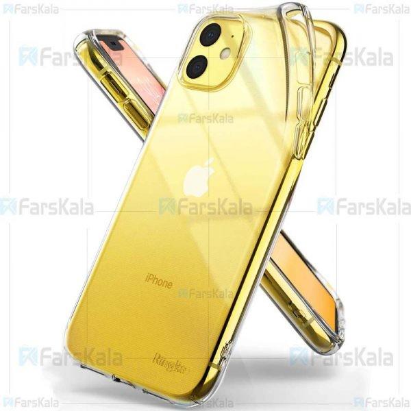 قاب محافظ ژله ای 5 گرمی اپل VPG TPU Clear Jelly Case For Apple iPhone 11
