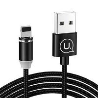 کابل شارژ لایتنینگ مگنتی USAMS US-SJ292 Magnetic Charging Cable