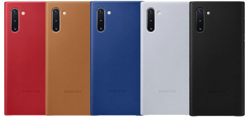 قاب چرمی اصلی سامسونگ Leather Cover Samsung Galaxy Note 10