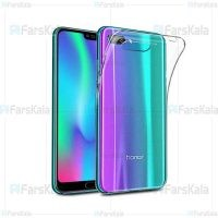 قاب محافظ ژله ای 5 گرمی هواوی Clear Jelly Case For Huawei Honor 10