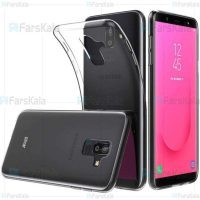 قاب محافظ ژله ای 5 گرمی سامسونگ Clear Jelly Case For Samsung Galaxy J8