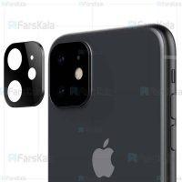 محافظ لنز فلزی دوربین موبایل اپل Alloy Lens Cap Protector For Apple iPhone 11
