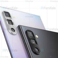 محافظ لنز فلزی دوربین موبایل سامسونگ Alloy Lens Cap Protector For Samsung Galaxy Note 10 Note 10 Plus