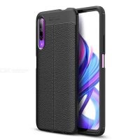 قاب ژله ای طرح چرم هواوی Auto Focus Jelly Case For Huawei Honor 9X / 9X Pro