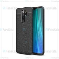 قاب ژله ای طرح چرم شیائومی Auto Focus Jelly Case For Xiaomi Redmi Note 8 Pro