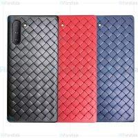 قاب ژله ای طرح چرم حصیری سامسونگ BV Grid Weaving Case For Samsung Note 10