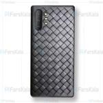 قاب ژله ای طرح چرم حصیری سامسونگ BV Grid Weaving Case For Samsung Note 10 Plus