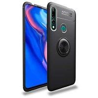 قاب ژله ای طرح چرم انگشتی هواوی Becation A.F Magnetic Ring For Huawei P Smart Z 2019 / Y9 Prime 2019