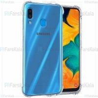قاب محافظ ژله ای کپسول دار 5 گرمی سامسونگ Clear Tpu Air Rubber Jelly Case For Samsung Galaxy A40