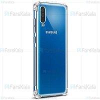 قاب محافظ ژله ای کپسول دار 5 گرمی سامسونگ Clear Tpu Air Rubber Jelly Case For Samsung Galaxy A70
