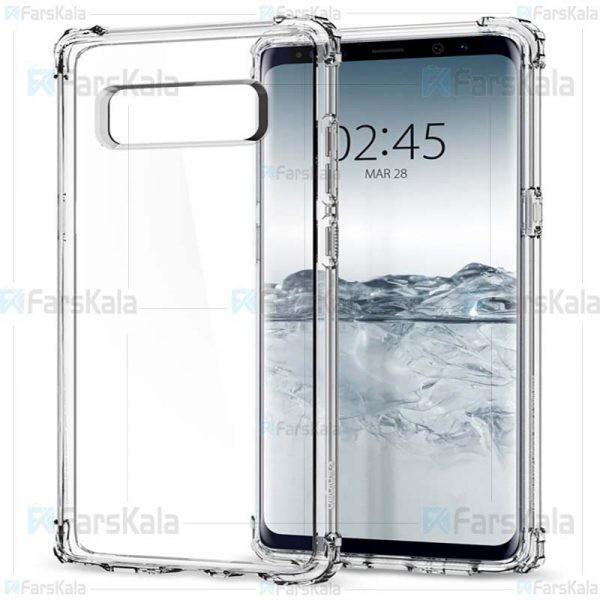 قاب محافظ ژله ای کپسول دار 5 گرمی سامسونگ Clear Tpu Air Rubber Jelly Case For Samsung Galaxy Note 8