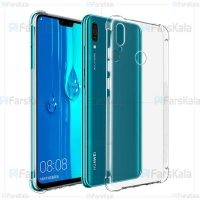 قاب محافظ ژله ای 5 گرمی هواوی Clear Tpu Rubber Jelly Case For Huawei Y9 2019 Enjoy 9 Plus