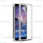 قاب محافظ ژله ای 5 گرمی نوکیا Clear Tpu Rubber Jelly Case For Nokia 3.1