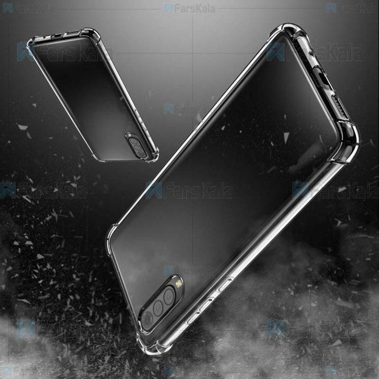 قاب محافظ ژله ای 5 گرمی سامسونگ Clear Tpu Rubber Jelly Case For Samsung Galaxy A50
