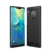 قاب محافظ ژله ای هواوی Fiber Carbon Rugged Armor Case For Huawei Mate 30 Pro
