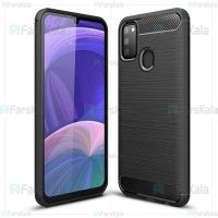 قاب محافظ ژله ای سامسونگ Fiber Carbon Rugged Armor Case For Samsung Galaxy M30s