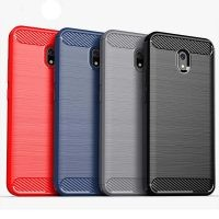 قاب محافظ ژله ای شیائومی Fiber Carbon Rugged Armor Case For Xiaomi Redmi 8A