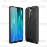 قاب محافظ ژله ای شیائومی Fiber Carbon Rugged Armor Case For Xiaomi Redmi Note 8 Pro