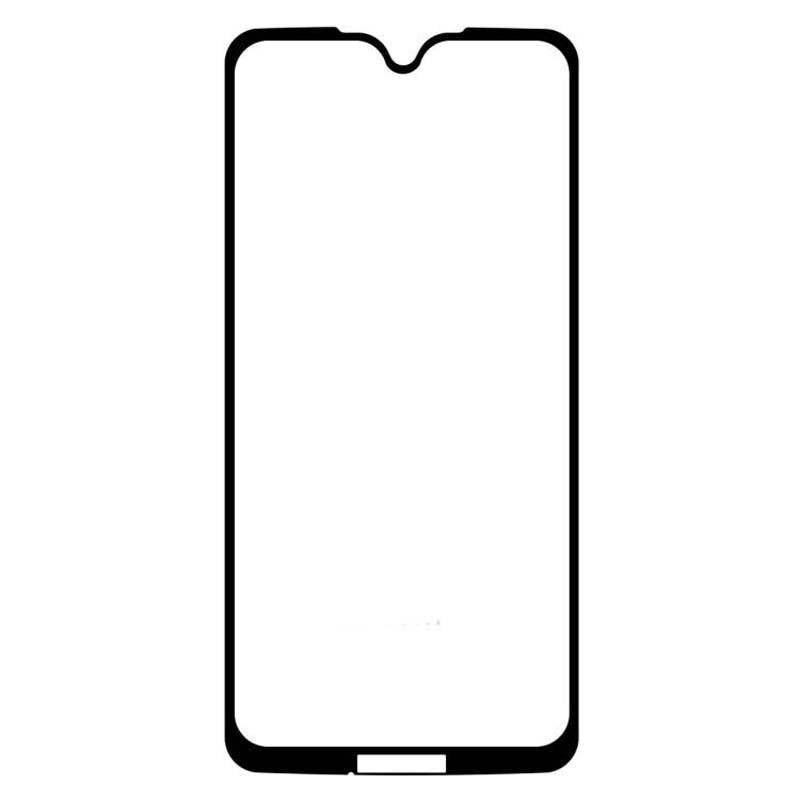محافظ صفحه نمایش تمام چسب با پوشش کامل موتورولا Full Glass Screen Protector For Motorola Moto G7 Plus