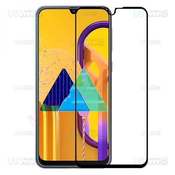 محافظ صفحه نمایش تمام چسب با پوشش کامل سامسونگ Full Glass Screen Protector For Samsung Galaxy M30s