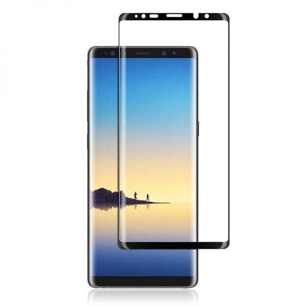 محافظ صفحه نمایش تمام چسب با پوشش کامل سامسونگ Full Glass Screen Protector For Samsung Galaxy Note 8