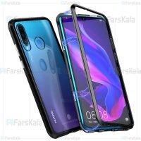 قاب محافظ مگنتی هواوی Glass Magnetic 360 Case Huawei P30 lite Nova 4e