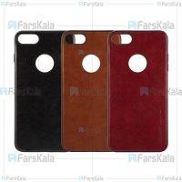 قاب طرح چرم هوانمین اپل Huanmin Leather Case Apple iPhone 7 8