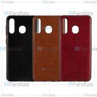 قاب طرح چرم هوانمین سامسونگ Huanmin Leather Case Samsung Galaxy A30
