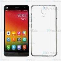قاب محافظ ژله ای 5 گرمی شیائومی Clear Jelly Case For Xiaomi Mi 4
