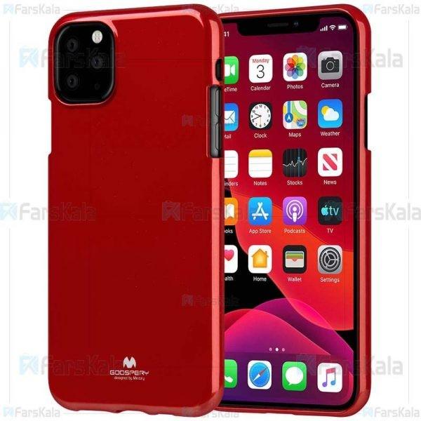 قاب محافظ ژله ای رنگی اپل Mercury Goospery Jelly Case Apple iPhone 11 Pro