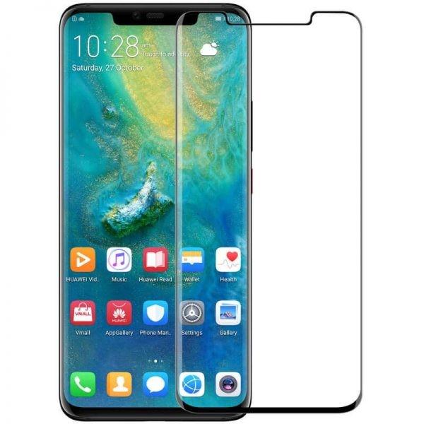 محافظ صفحه نمایش شیشه ای نیلکین هواوی Nillkin 3D DS+MAX Glass Huawei Mate 20 Pro