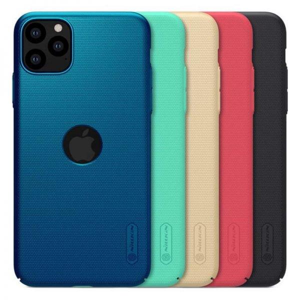 قاب محافظ نیلکین اپل Nillkin Frosted Shield LOGO cutout Case For Apple iPhone 11 Pro Max