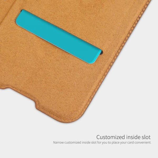 کیف محافظ چرمی نیلکین شیائومی Nillkin Qin Case For Xiaomi Redmi 8