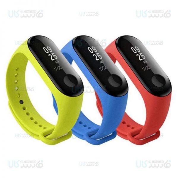 بند سیلیکونی دستبند هوشمند شیائومی Silicone Strap For Xiaomi Mi Band 3 Mi Band 4