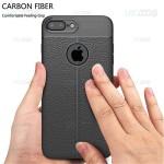 قاب ژله ای طرح چرم اپل Auto Focus Jelly Case For Apple iPhone 7 Plus 8 Plus
